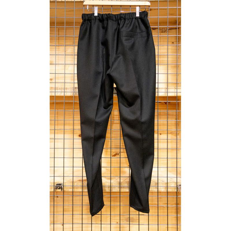 Pantalon habillé élastiqué noir